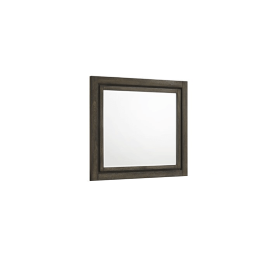Ashland mirror By New Classic Furniture with dark wood frame product image