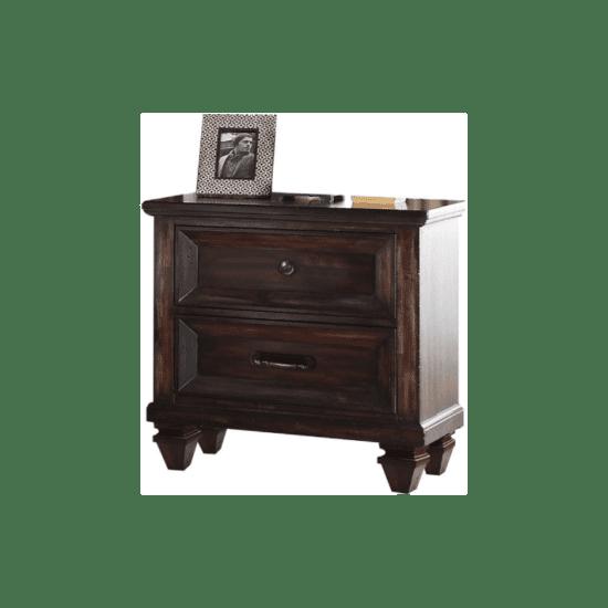 Sevilla New Classic nightstand in dark walnut finish product image