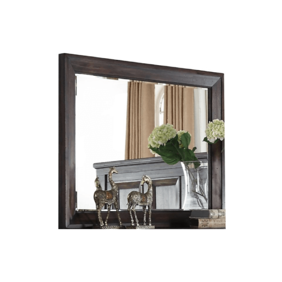 Sevilla New Classic mirror in dark walnut finish product image