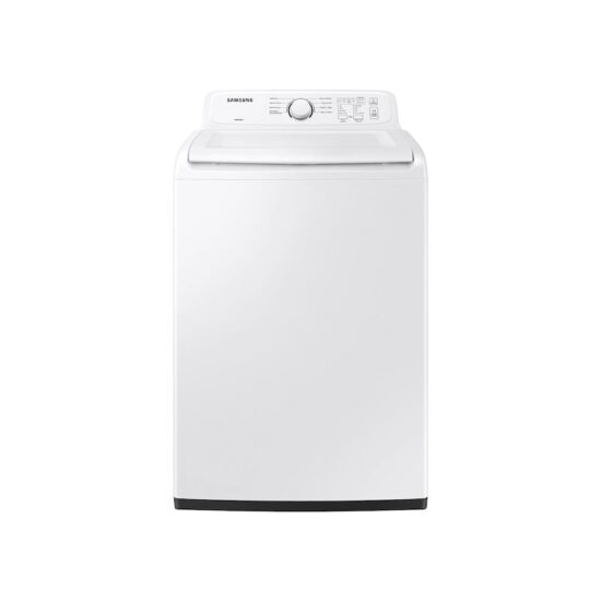 samsung-wa40a3005aw4.0 cu. ft. Top Load Washer with ActiveWave™ Agitator and Soft-Close Lid in White product image