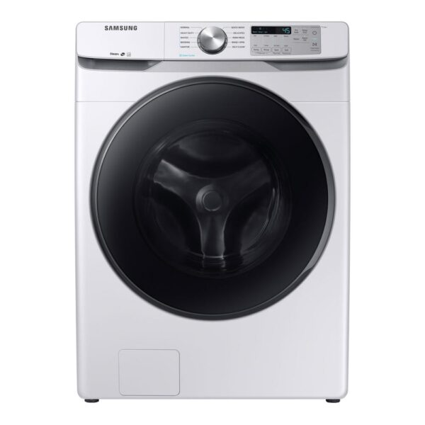 Samsung 4.5 cu. ft. High-Efficiency White Front Load Washing Machine with Steam, ENERGY STAR product image